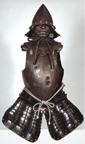 Armadura de samurái del siglo XVI
