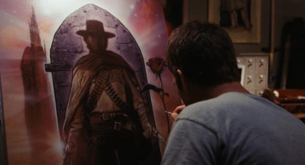 Primeira imagem do filme traz uma escancarada referencia A Torre Negra. (Foto: Reprodução)