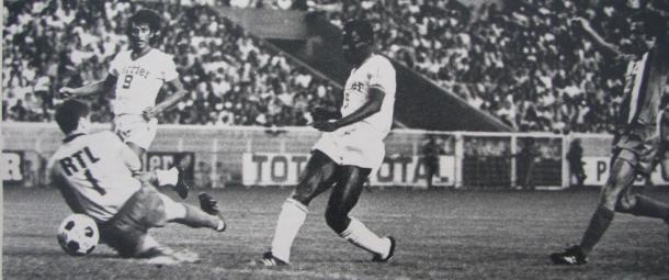 Boubacar haciendo el definitivo 2-0 | Foto: OM