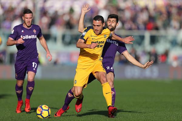 Duelo entre Fiorentina y Hellas Verona | Foto: Zimbio