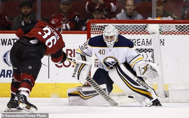 Christian Fisher has added some scoring to the right side for the Coyotes.