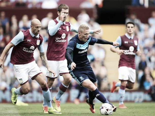 Viktor Fischer also got on the score sheet (Picture from MFC.co.uk)