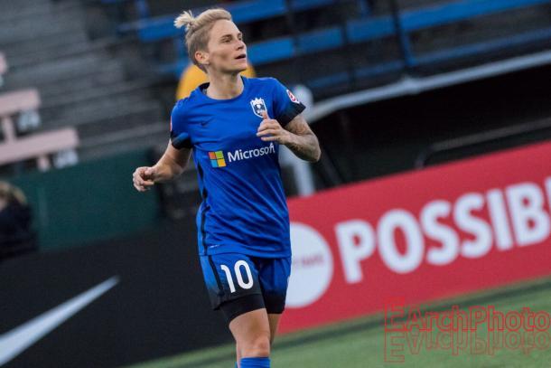 Led by players like Jess Fishlock, the Reign can go far in 2018. | Source: E. Sbrana - EarchPhoto