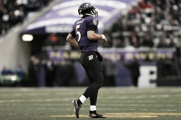 The Ravens playoff hopes hinge on Flacco and other stars' health. Photo: Patrick Smith/Getty Images