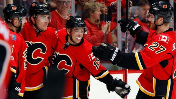 Even with superstar Johnny Hockey, the Calgary Flames will extinguish and miss the postseason. (Photo: nhl.com)