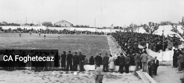 Primeros partidos en los terrenos de El Madrigal. Fuente: villarrealcf.es