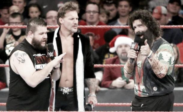 Foley made an error in his Raw promo (image: sportskeeda)