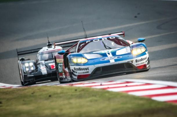 Ford vence na classe GTE-PRO. (Foto: Gabi Tomescu – AdrenalMedia.com)