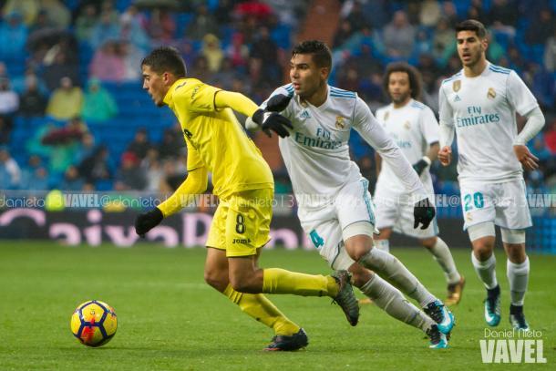 Fornals, goleador en el Bernabéu. | Foto: Dani Nieto (VAVEL)