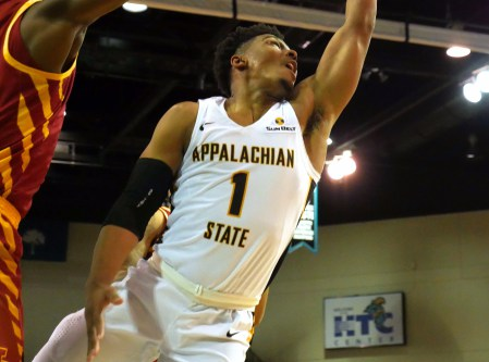 Forrest's record-second half outburst wasn't enough for Appalachian State/Photo: The Appalachian Online website