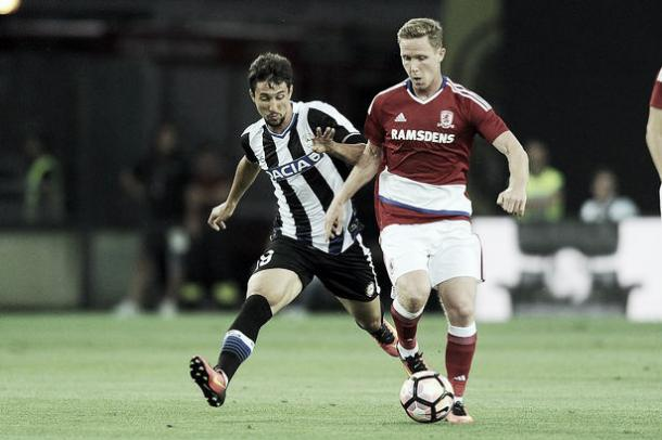Adam Forshaw performed well in Boro's midfield (Picture from Gazette live.co.uk)