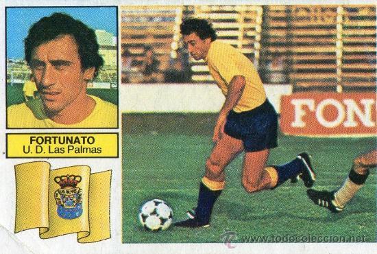 Fortunato, autor del gol de la victoria | Foto: todocoleccion.net