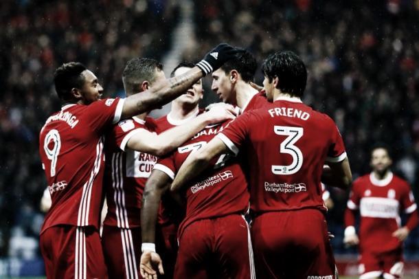 Middlesbrough lucha en los primeros puestos, mientras que Sunderland se hunde en el fondo | Foto: Middlesbrough