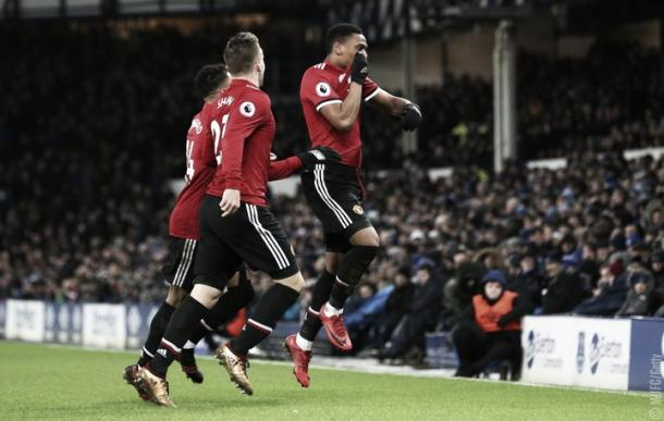 Manchester United viene de vencer al Everton por 2-0 | Foto: ManUtd