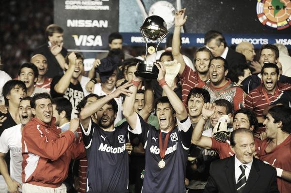 La Copa Sudamericana de 2010 es el último título internacional que ganó Independiente | Foto: Conmebol