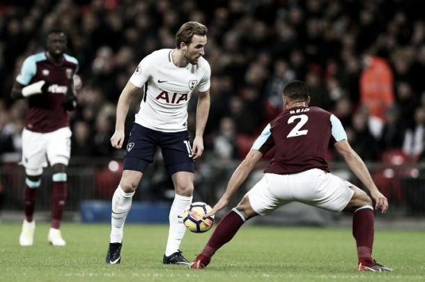 Harry Kane, el goleador de 2017, podría no comenzar este partido | Foto: Tottenham