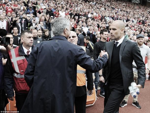 Mourinho y Guardiola, una rivalidad eterna   Foto: Premier League
