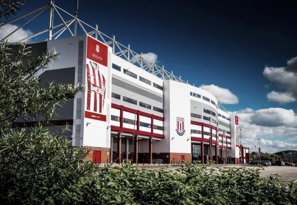 Bet365 Stadium, hogar del Stoke City | Foto: Stoke City Twitter