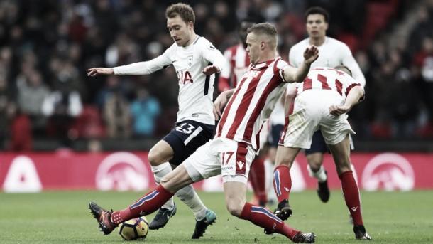 Tottenham goleó por 5-1 al Stoke | Foto: Stoke