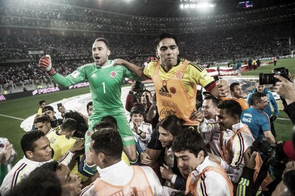 Colombia logró la clasificación con un polémico empate ante Perú | Foto: Mónaco TW
