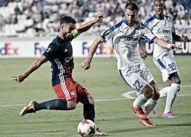 Lyon viene de un decepcionante resultado en Chipre | Foto: Lyon TW
