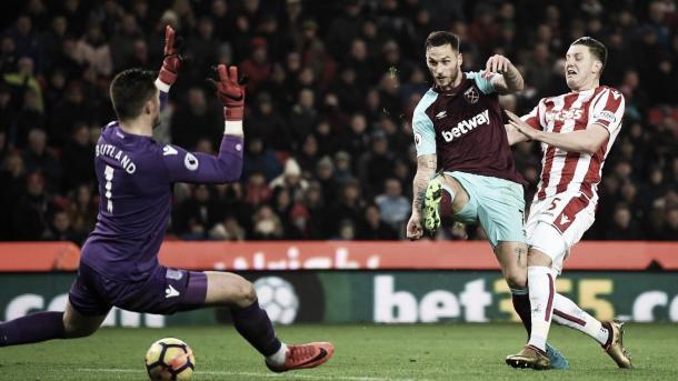 Arnautovic marcó contra su ex equipo | Foto: Premier League