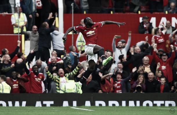 Romelu Lukaku es el goleador del equipo | Foto: @ManUtd