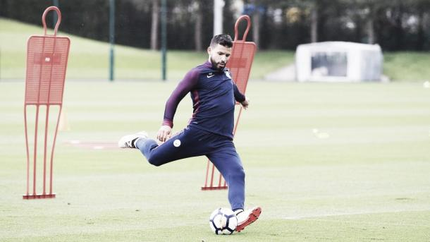 Sergio Agüero, figura clave del Manchester City | Foto: ManCity TW