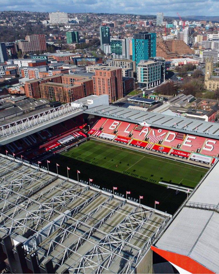 Foto del Estadio Bramall Lane // Fuente: Sheffield United