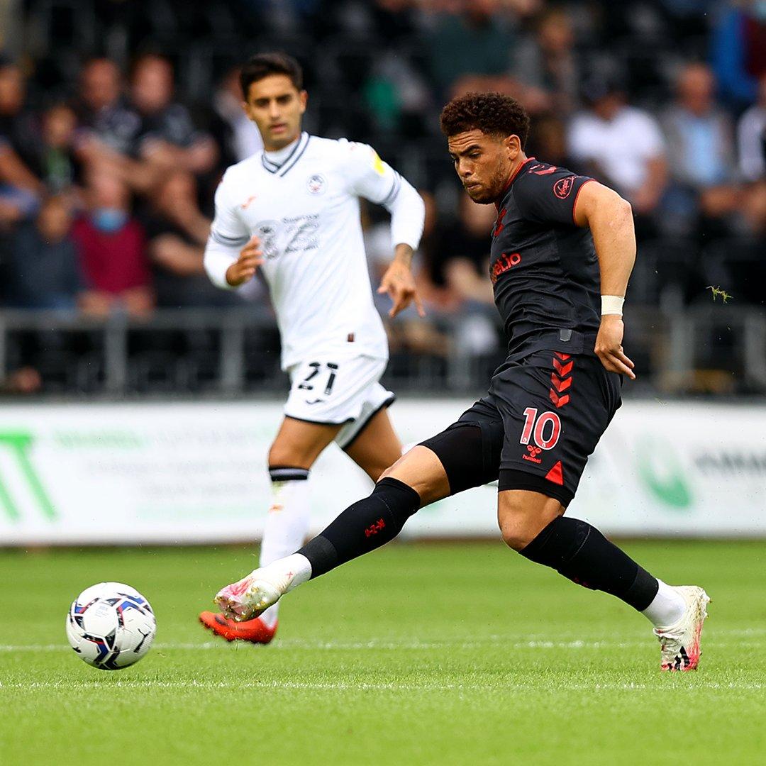 Foto del Swansea vs Southampton // Fuente: Southampton