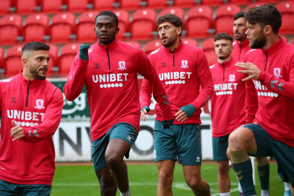 Middlesbrough training photo // Source: Middlesbrough FC