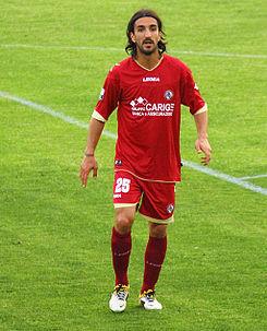 Morosini en un partido con el Livorno. Foto: FIFA