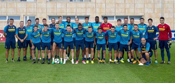 Foto oficial del equipo del Villarreal CF para la temporada 2017-18. Fuente: villarrealcf.es