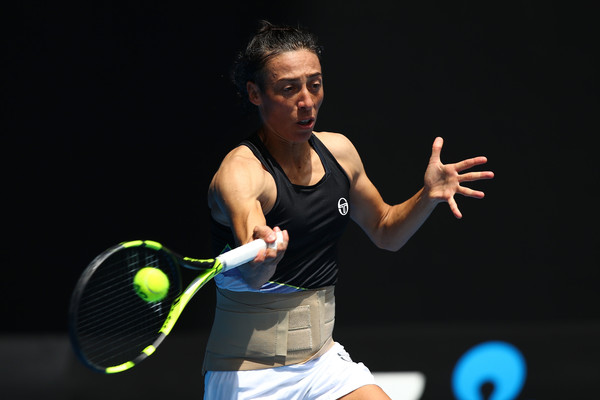 Francesca Schiavone put up a tough fight today | Photo: Cameron Spencer/Getty Images AsiaPac