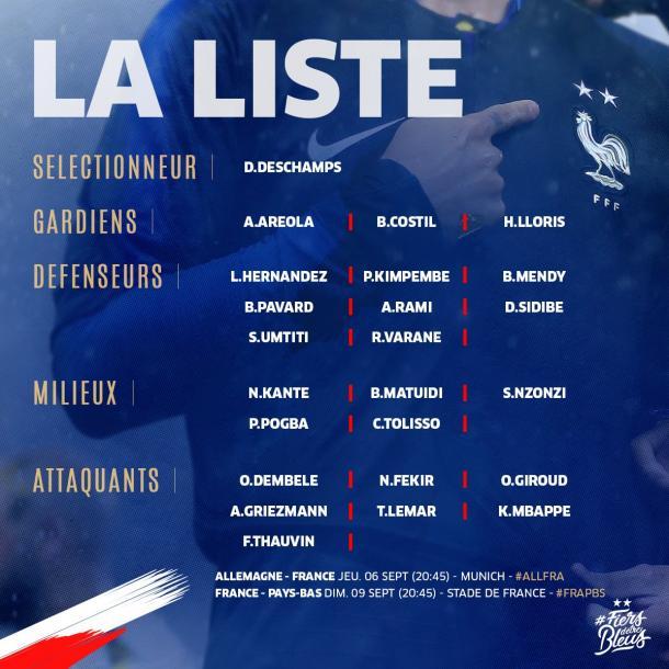Alemania y Francia estrenan la Liga de Naciones