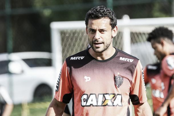 Fred não perdoou contra América-MG e Cruzeiro, seus ex-times (Foto: Bruno Cantini/Atlético-MG)
