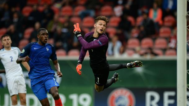 Freddie Woodman in action | Photo: UEFA.com