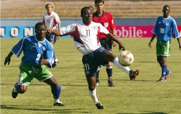 Adu durante la Copa del Mundo Sub-17 (sierraleonefootball.com)