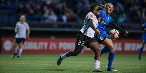 In their last meeting, the Reign and Sky Blue were able to hold each other to a 1-1 draw. | Source: Sky Blue FC