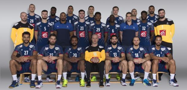 Selección francesa. Foto: EHF.
