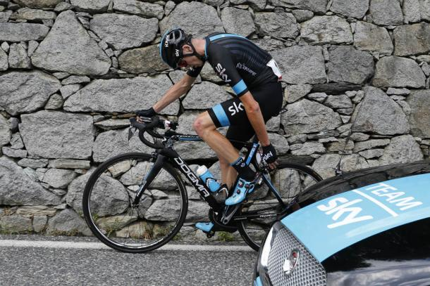Froome hasn't had the best of luck at the Vuelta, last year he crashed out / Cycling Weekly