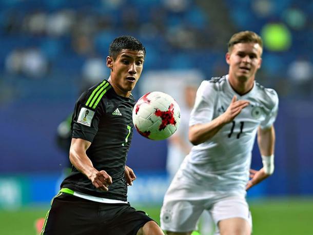 Fue reñido el duelo del Tri contra Alemania | Foto: FEMEXFUT