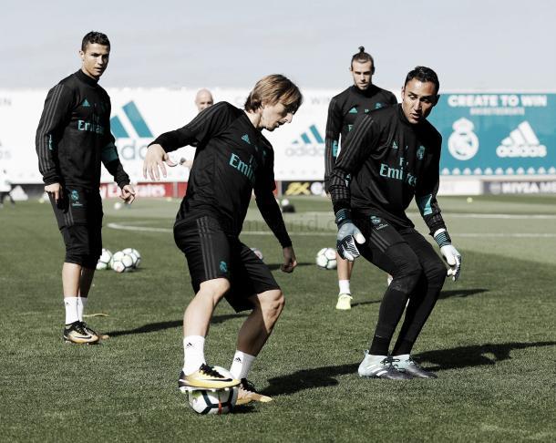 Preparação do Madrid para difícil confronto no Anoeta | Foto: Divulgação/Real Madrid