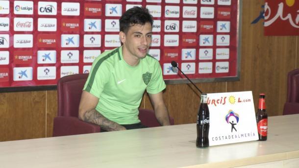 Gaspar ya se encuentra totalmente recuperado | UD Almería