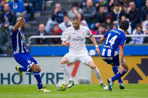 Deportivo 0-2 Real Madrid. Fotografía: Deportivo.com