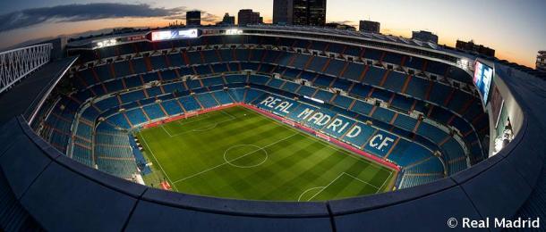 Panorámica del Estadio Santiago Bernabéu | Foto: Real Madrid