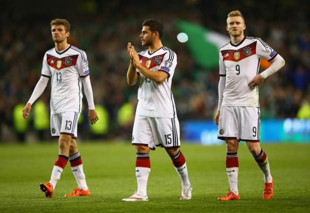 Can the Leverkusen push push Volland back into the Germany squad? | Image Source: Ian Walton/Getty Images Europe