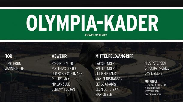 The Germany squad that will head for Brazil. | Image source: DFB.de