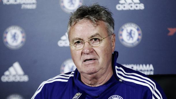 Can Hiddink help Chelsea end on a high? | Source: Chelsea FC.