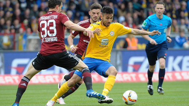 Holtmann has been in fine form for Braunschweig this season. | Image source: t-online